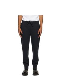 Ermenegildo Zegna Navy Cotton Lounge Pants