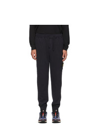 Stone Island Navy Fleece One Pocket Lounge Pants