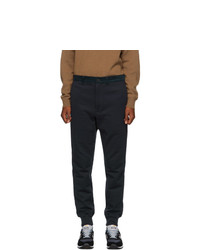 Junya Watanabe Navy French Terry Lounge Pants