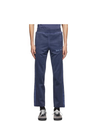 Palm Angels Navy Gart Dyed Track Pants