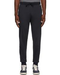 Paul Smith Navy Jersey Lounge Pants
