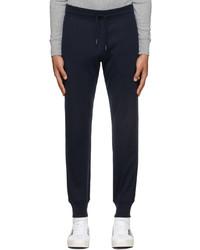 Tom Ford Navy Knit Regular Fit Lounge Pants