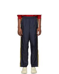 Acne Studios Navy Nylon Track Pants