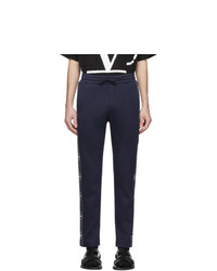 Valentino Navy Vlogo Lounge Pants
