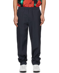 Kenzo Navy X Logo Jog Lounge Pants