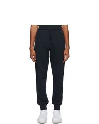 Dries Van Noten Navy Zip Pockets Lounge Pants