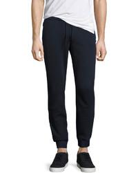 Original Penguin Slim Fit Drawstring Track Pants Blue