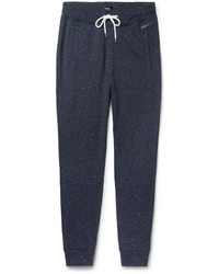 Hugo Boss Slim Fit Tapered Nep Cotton Jersey Sweatpants