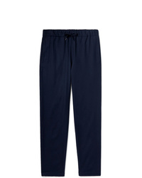 A.P.C. Tapered Cotton Blend Drawstring Trousers