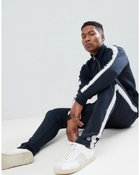 Selected Homme Track Pants With Badge Detail