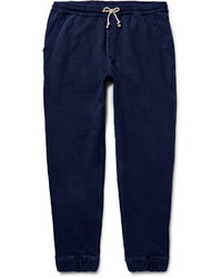 J.Crew Wallace Barnes Indigo Dyed Loopback Cotton Jersey Sweatpants