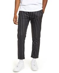 Topman Whyatt Stripe Crop Pants