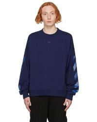 Off-White Blue Arrows Skate Sweatshirt