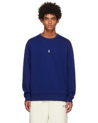 Polo Ralph Lauren Blue Double Knit Sweatshirt