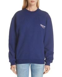 Balenciaga Campaign Logo Sweatshirt