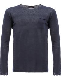 Roberto Collina Chest Pocket Sweatshirt