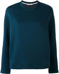 Marni Crew Neck Scuba Sweatshirt