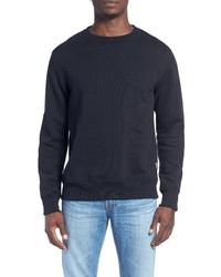 Billy Reid Dover Crewneck Sweatshirt With Patches