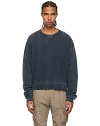 John Elliott Grey Sundrenched Folsom Sweatshirt
