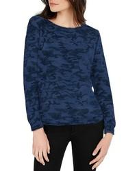 Michl stars camo print sweatshirt medium 5257067