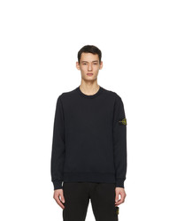 Stone Island Navy Classic Sweatshirt