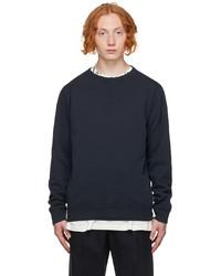 Maison Margiela Navy Classic Sweatshirt