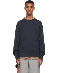 Acne Studios Navy Crewneck Sweatshirt