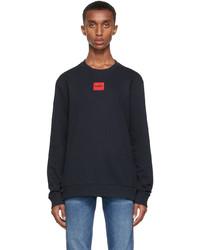 Hugo Navy Diragol212 Sweatshirt