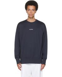 Valentino Navy Logo Sweatshirt