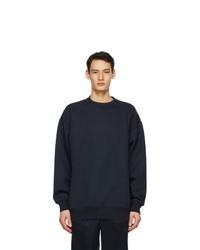 Acne Studios Navy Pink Label Sweatshirt