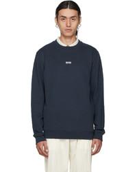BOSS Navy Weevo 2 Sweatshirt