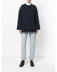 Maison Margiela Oversized Long Sleeve Sweatshirt