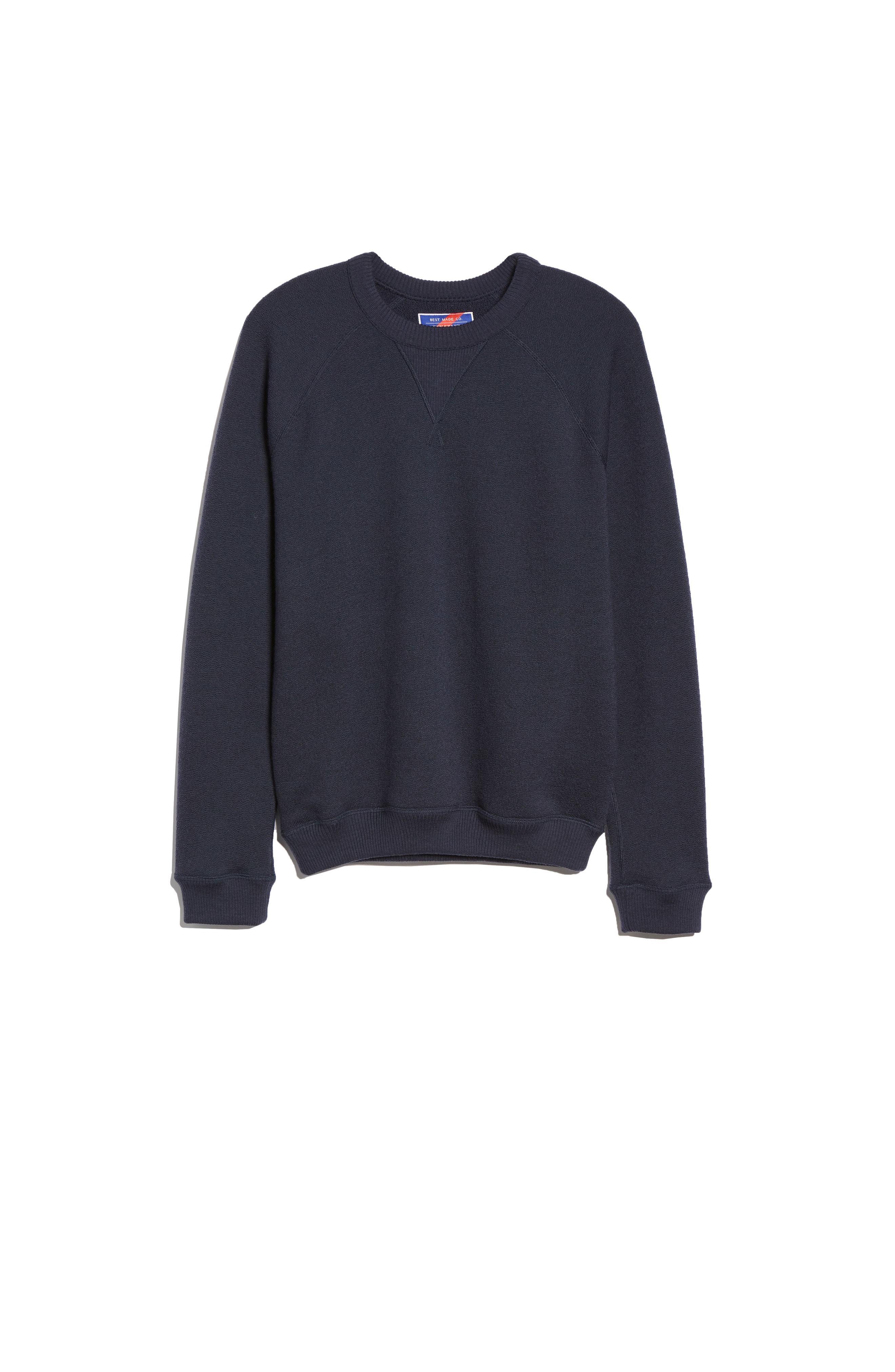 0ad9fd7378c0 Best Made Co. The Merino Wool Fleece Crew Sweatshirt