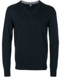 Eleventy V Neck Sweatshirt