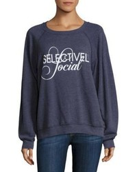 Wildfox Couture Wildfox Selectively Social Sommers Sweatshirt