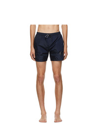 Balmain Blue Logo Swim Shorts