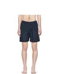 Stone Island Blue Nylon Swim Shorts