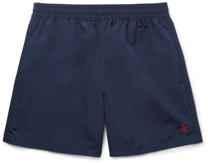 bf833d1de9 Polo Ralph Lauren Hawaiian Mid Length Swim Shorts, $60   MR PORTER ...