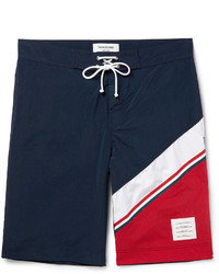 Thom Browne Long Length Colour Block Swim Shorts