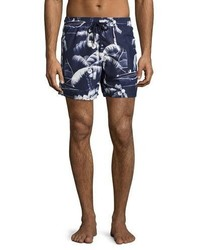 Vilebrequin Moorea Palm Tree Swim Trunks