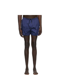 DSQUARED2 Navy Back Logo Swim Shorts