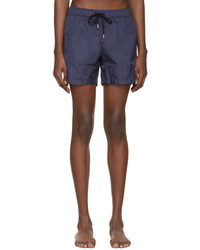 Moncler Navy Drawstring Swim Shorts