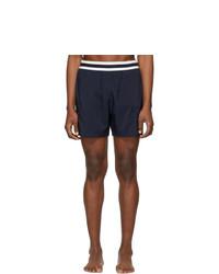 Stella McCartney Navy Medium Length Swim Shorts