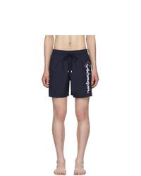 Vilebrequin Navy Motu Swim Shorts