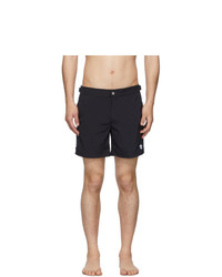 Alexander McQueen Navy Solid Swim Shorts
