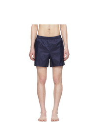 Acne Studios Navy Warrick Swim Shorts