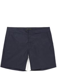 Prada Short Length Cotton Blend Swim Shorts