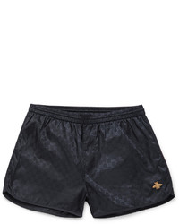 Gucci Short Length Gg Patterned Swim Shorts