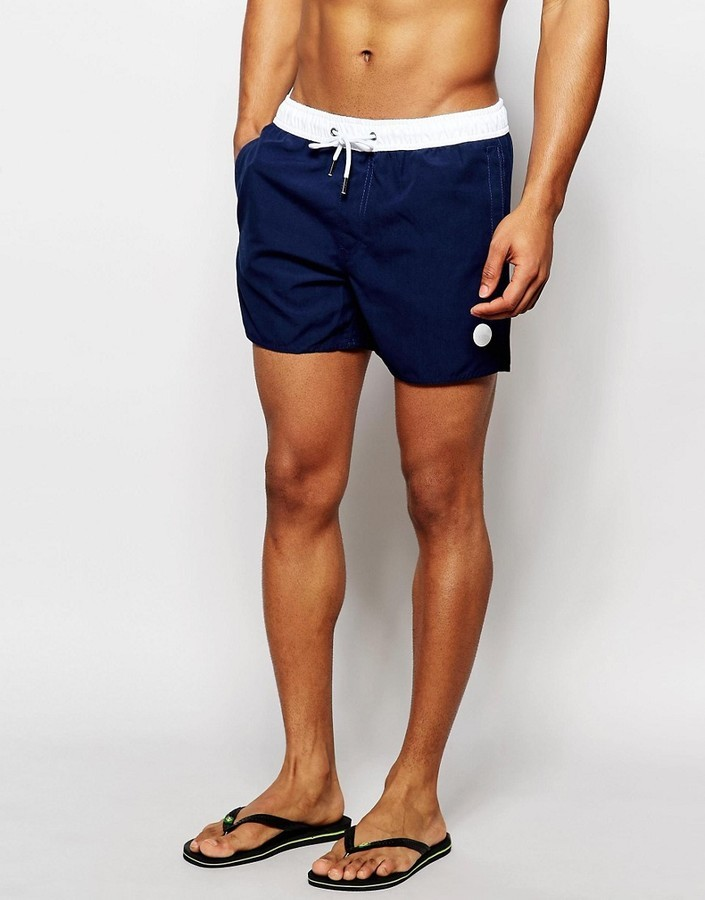 261d8d40b2 NATIVE YOUTH Swim Shorts With Contrast Waistband, $46 | Asos ...