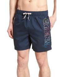 Original Penguin Volley Swim Trunks